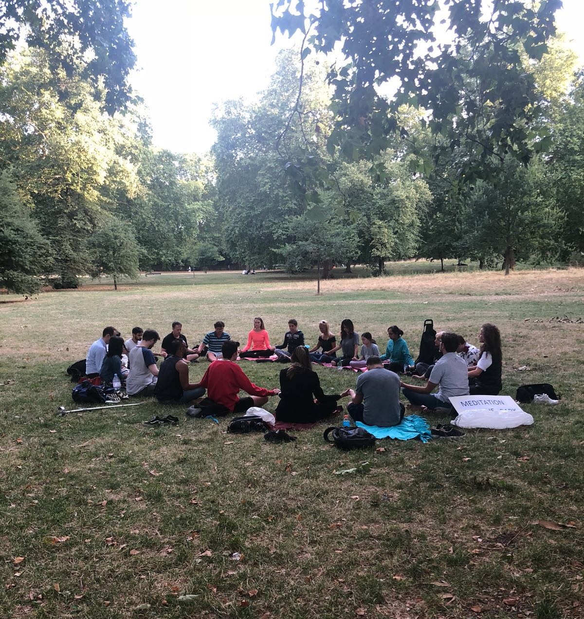 Meditation with Green Park with Adam Tallamy
